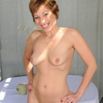 Brandi Minx Naked Outdoors